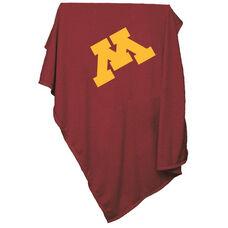 University of Minnesota Team Logo Sweatshirt Blanket