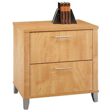 Somerset 2 Drawer Lateral File Cabinet - Maple Cross