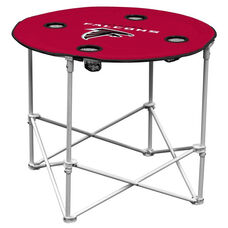Atlanta Falcons Team Logo Round Folding Table