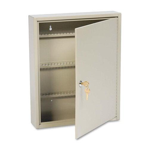 Our SteelMaster® Uni-Tag Key Cabinet - 110-Key - Steel - Sand - 14 x 3 1/8 x 17 1/8 is on sale now.