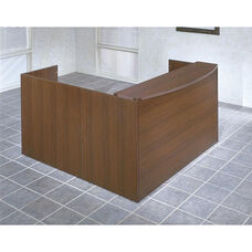 OSP Furniture Napa Scratch Resistant Reception Station