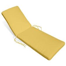 Aqua Chaise Lounge Cushion - Buttercup