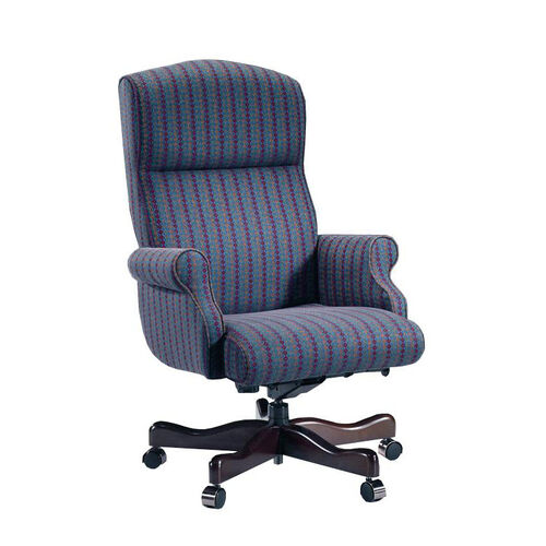 Our Renaissance Series Rolled Arm High Back Executive Swivel Chair without Tufts is on sale now.