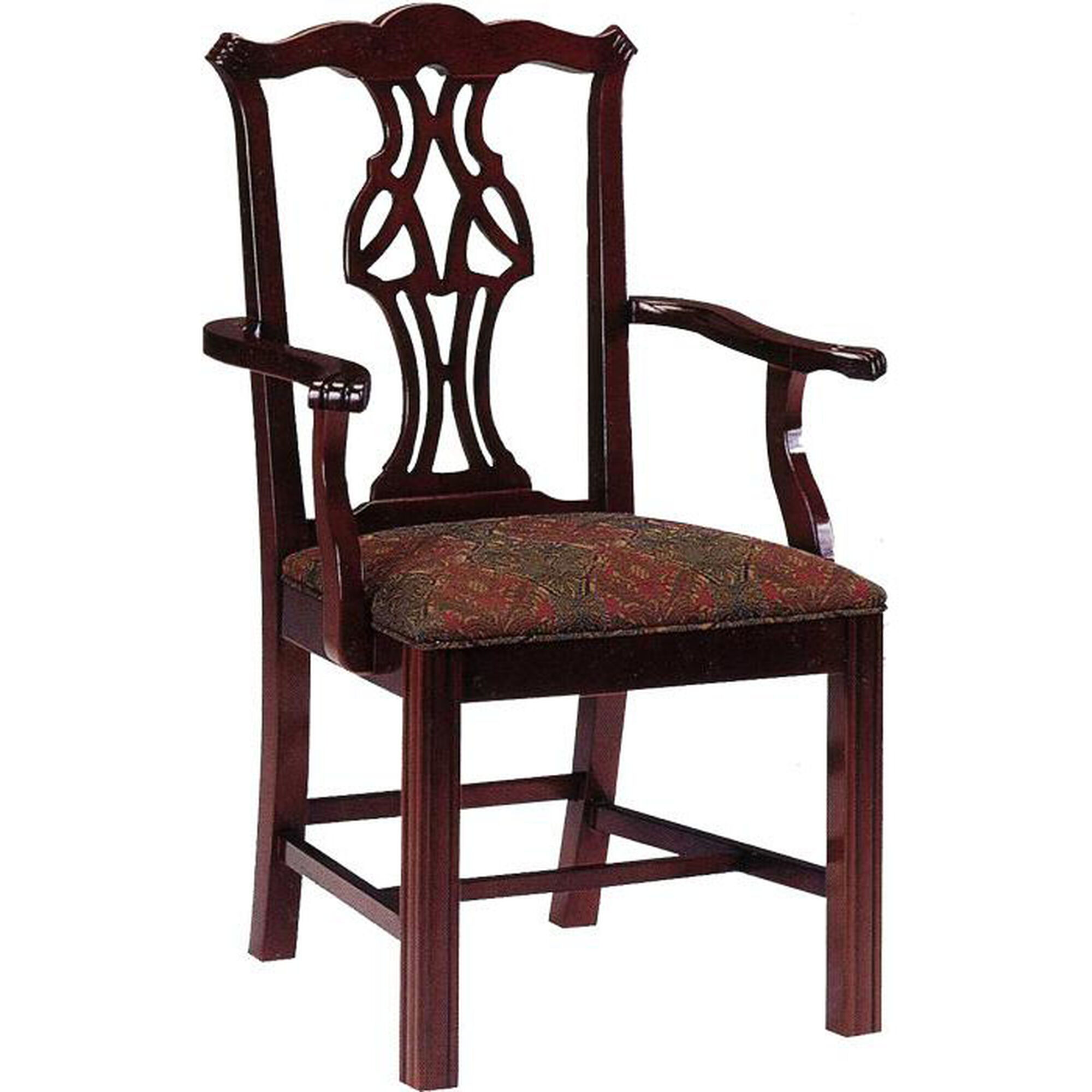 Ac Furniture 640 Chippendale Arm Chair Grade 1 640