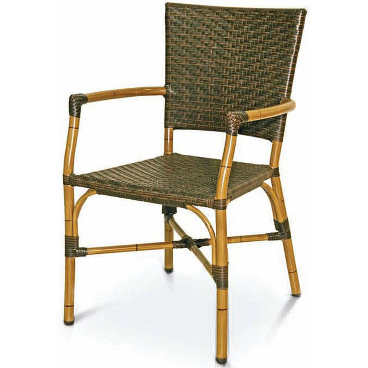 Florida Seating Havana Collection Safari Bamboo Stackable