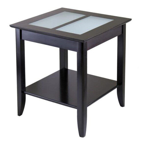 Our Syrah End Table with Frosted Glass is on sale now.