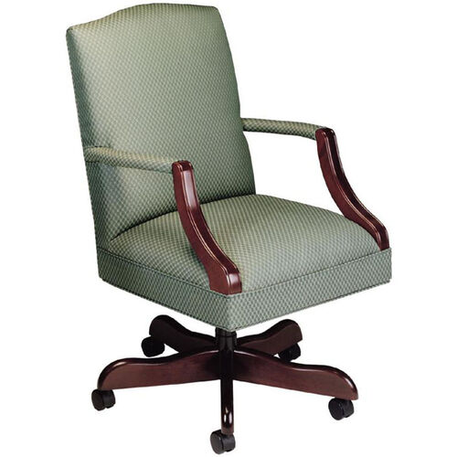 Our Quick Ship Value Traditional Martha Washington Management Swivel Chair is on sale now.