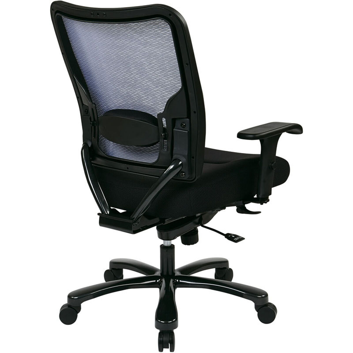 Space Big and Tall Double AirGrid Back and Mesh Seat ...