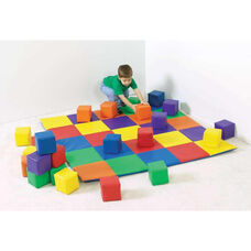 Multicolor Patchwork Crawly Mat - 57