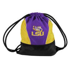 Louisiana State University Team Logo Spring Drawstring Backsack