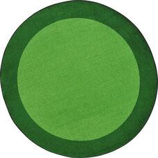 Kid Essentials All Around Nylon Rug with SoftFlex Backing - Green - 64