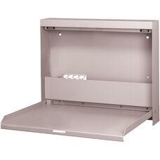 WallWrite Fold-Up Desk - Light Gray
