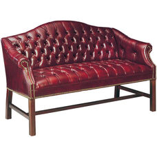 Quick Ship Traditional Series Tufted Loveseat