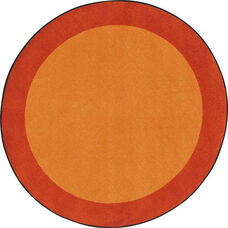 Kid Essentials All Around Nylon Rug with SoftFlex Backing - Orange - 64