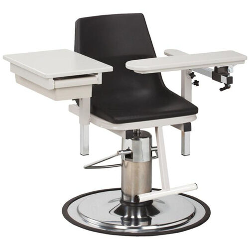 Our H Series E-Z Clean Adjustable Blood Drawing Chair with ClintonClean™ Flip Arm and Drawer is on sale now.
