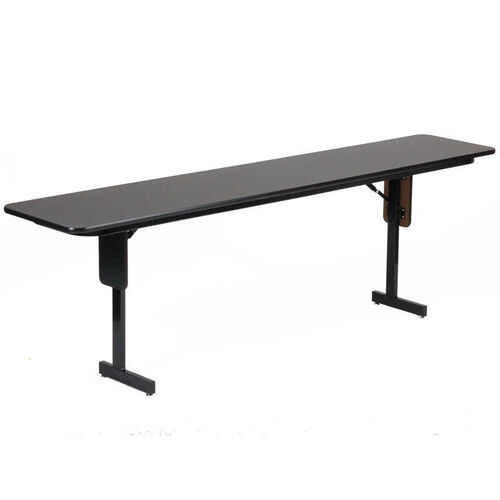 Folding Adjustable Height Panel Leg Rectangular Seminar and Training Table - 18