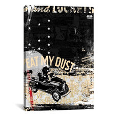 Eat My Dust by Teis Albers Gallery Wrapped Canvas Artwork