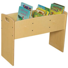 Contender 3 Bin Wooden Bookwell - Unassembled - 30