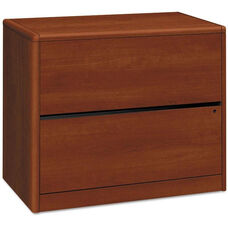 HON® 10500/10700 Series Laminate Two Drawer Lateral File - 36