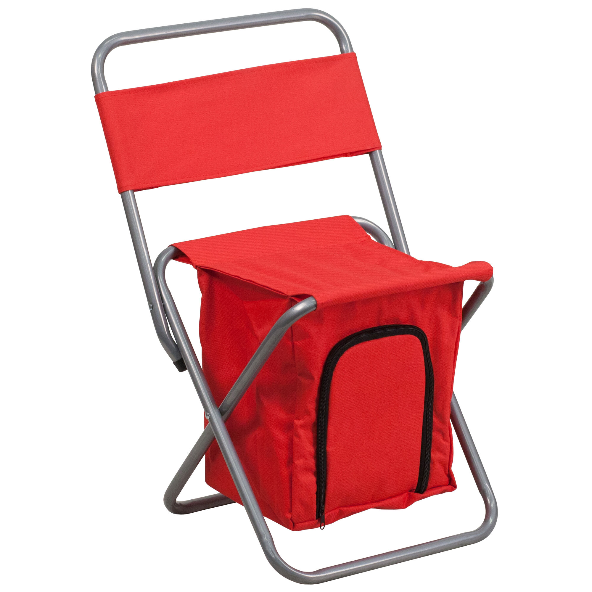Flash furniture folding camping chair with insulated