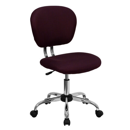 Our Mid-Back Burgundy Mesh Padded Swivel Task Office Chair with Chrome Base is on sale now.