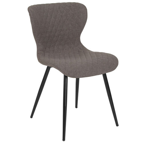 Our Bristol Contemporary Upholstered Chair in Gray Fabric is on sale now.