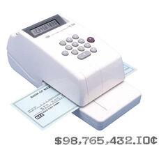 Max USA 10-Digit Print Electronic Check Writer