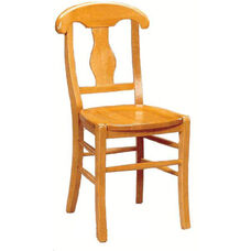 1981 Side Chair with Wood Seat