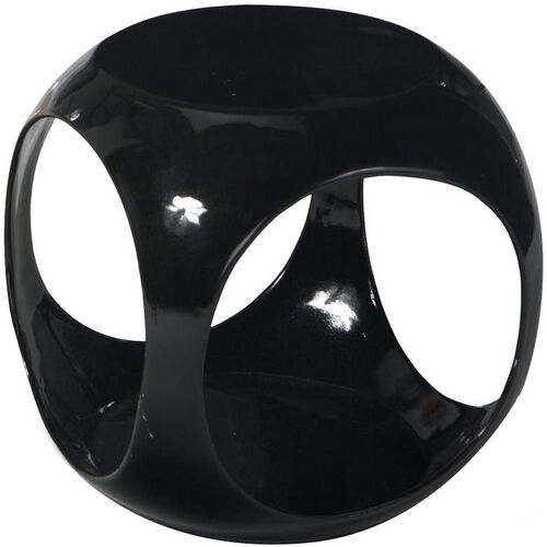 Our Ave Six Slick Modern Cube Occasional Table - Black is on sale now.