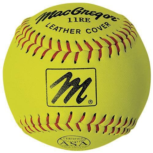 X44RE ASA Slow Pitch Softballs - 1 Dozen