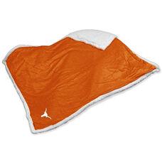 University of Texas Team Logo Sherpa Throw