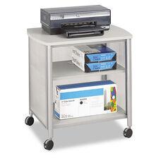 Safco® Impromptu Machine Stand - One-Shelf - 26-1/4w x 21d x 26-1/2h - Gray