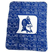 Duke University Team Logo Classic Fleece Throw