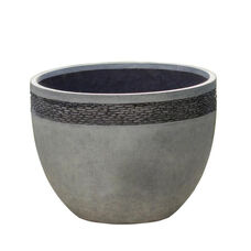 Pebble Embossed Small Planter 12.2