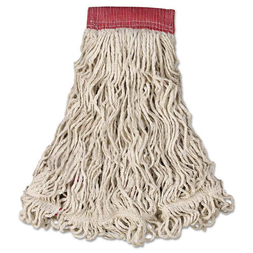 Our Rubbermaid® Commercial Swinger Loop Wet Mop Head - Large - Cotton/Synthetic - White - 6/Carton is on sale now.