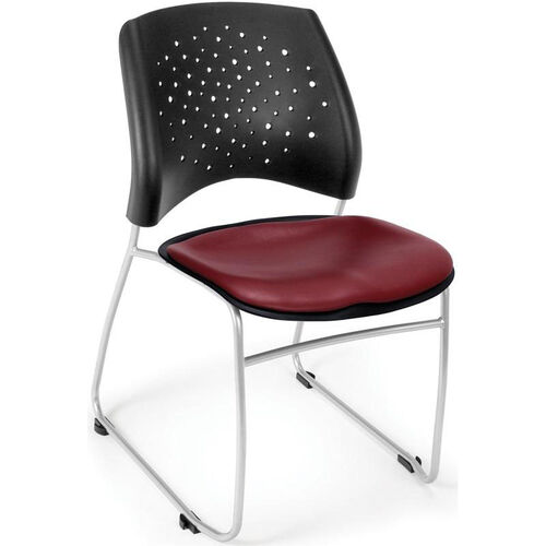 Our Stars Stack Chair with Vinyl Seat is on sale now.