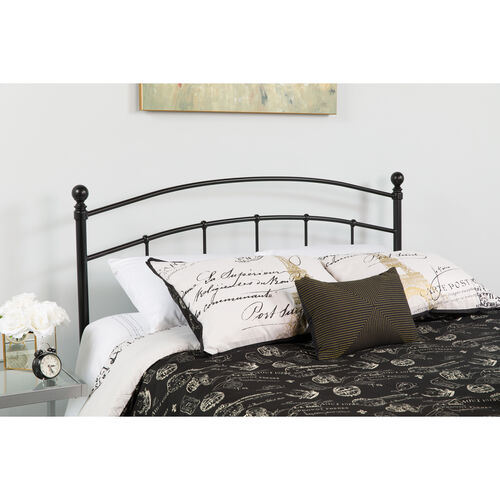 Our Woodstock Decorative Black Metal King Size Headboard is on sale now.