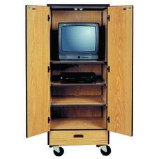 Mobile Video Center Storage Cabinet