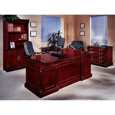 Keswick Left Executive L Desk - English Cherry