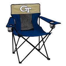 Georgia Tech Team Logo Elite Folding Chair