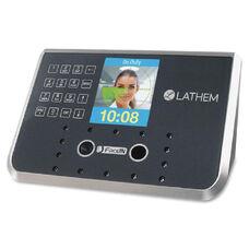 Lathem Biometric Face Recognition Time Clock
