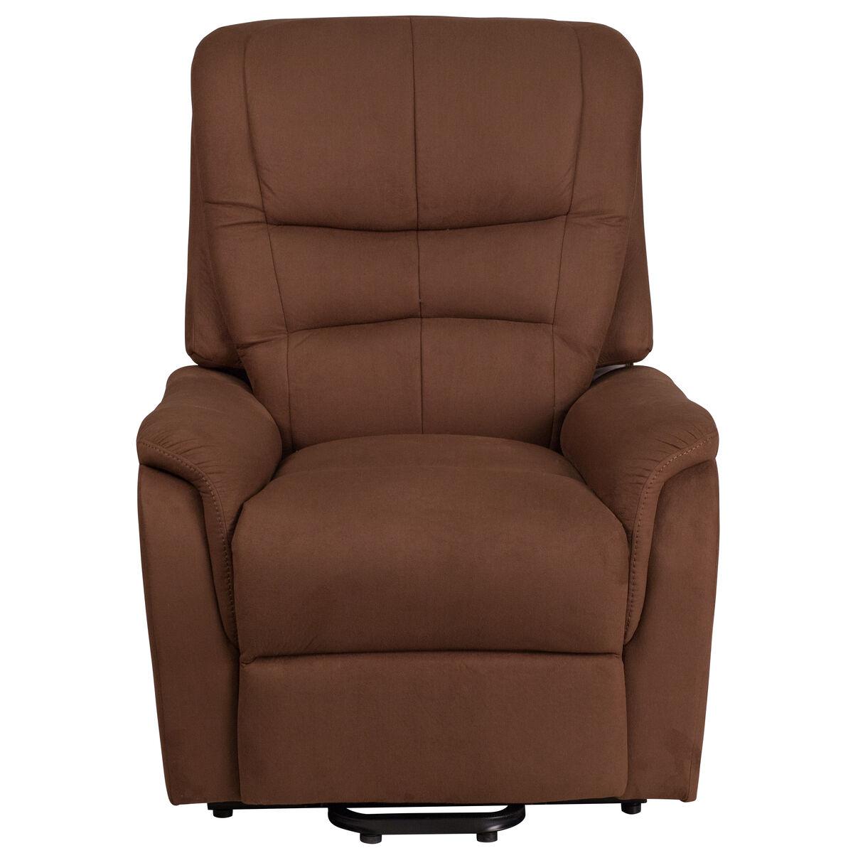 brown microfiber lift recliner ch us 153062l brn mic gg bizchair com
