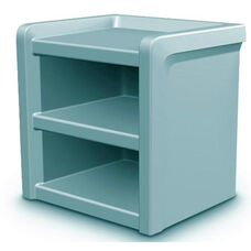Endurance Rotationally Molded Nightstand - Blue Gray
