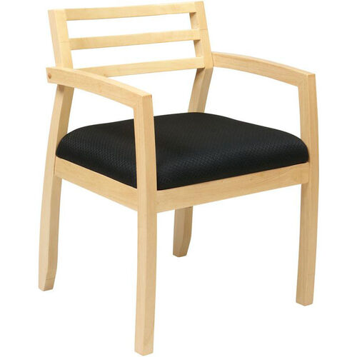 Our OSP Furniture Napa Guest Chair with Wood Back - Maple is on sale now.