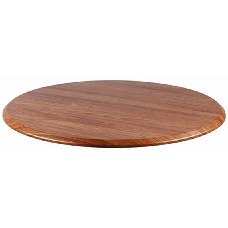 ... Our Topalit 42u0027u0027 Round Indoor/Outdoor Table Top   Teak Is On Sale