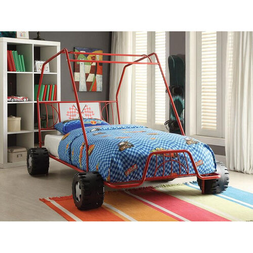 Our Xander Metal Go Kart Bed - Twin - Red is on sale now.