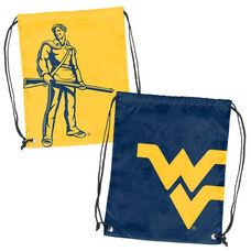 West Virginia University Team Logo Doubleheader Drawstring Backsack