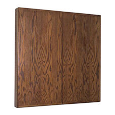 Contemporary Walnut Conference Cabinet - 48