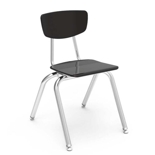 3000 Series Hard Plastic Stack Chair with 16.25