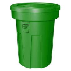 45 Gallon Cobra Food Grade/General Use Trash Can - Green